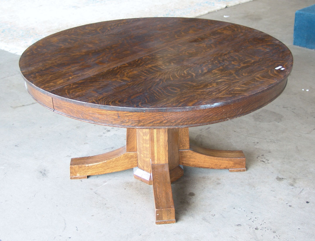 Antique Round Oak Pedestal Dining Table Ideas Cleaning Clean Bathroom . Full resolution  portrait, nominally Width 1076 Height 822 pixels, portrait with #346F97.